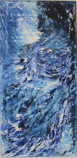 bleu lumière