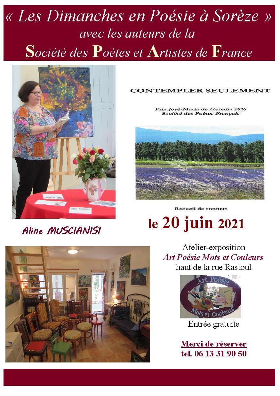 20 juin 2021 aline muscianisi